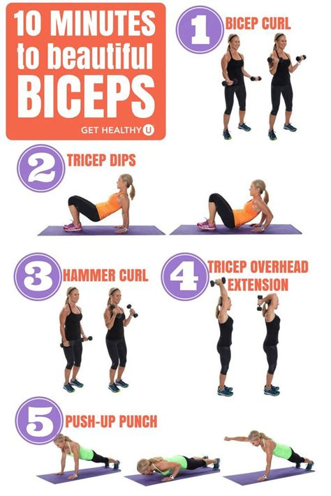 25 best ideas about bicep workouts for on