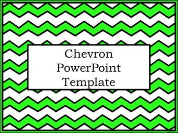 chevron powerpoint template by activities by jill tpt
