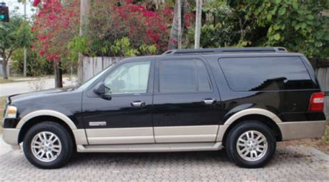 Expedition E6339 Black Edition purchase used 2008 black ford expedition el eddie bauer edition with leather interior in