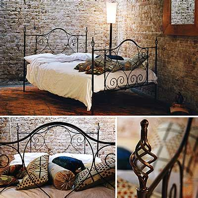 Iron Rod Bed Frames Redhouse Bed Frame 77 Handforged Wrough Iron Bed