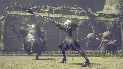 Kaset Ps4 Nier Automata nier automata releases march 2017 worldwide special black box edition detailed