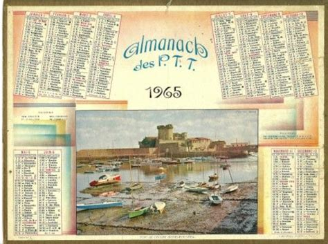 Calendrier De 1965 42 Best Calendrier Ptt De 1960 224 1980 Images On