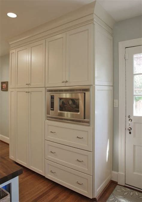 microwave pantry cabinet with microwave insert ideas microwaves and pictures on