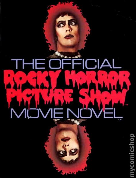 rocky horror picture show book official rocky horror picture show novel sc 1980