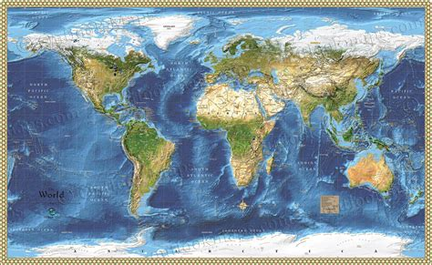 world map with country name satellite world satellite wall map detailed map with labels