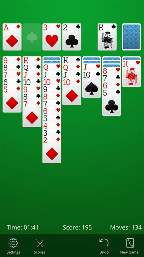 solitaire for android solitaire appstore for android
