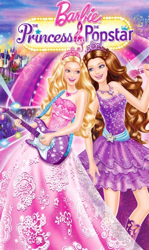 film barbie pop star barbie the princess and the popstar cover barbie movies
