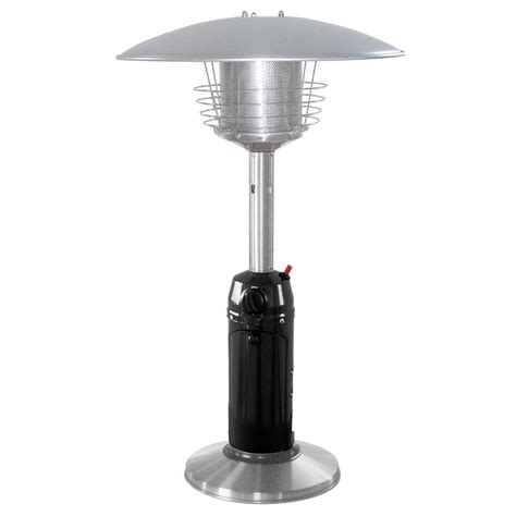 Fire Sense 46 000 Btu Mocha And Stainless Steel Propane Mocha Commercial Propane Patio Heater