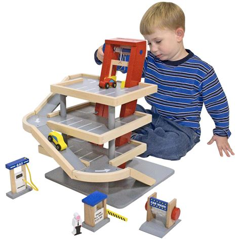 And Doug Garage by And Doug 174 Parking Garage 147108 Toys At
