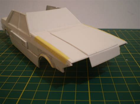 Building A From Scratch by Scratch Built 1 25 Scale Xe Ford Falcon Build Threads