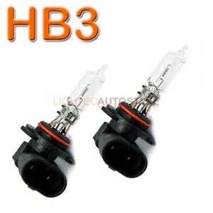 Car Headlight Bulbs Pair Hb3 65w Halogen Car Headlight Bulbs E Marked