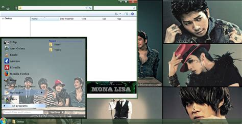 theme kpop windows 8 my kpop fanatik mblaq mona lisa windows 7 theme download