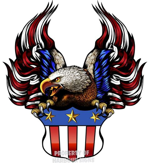 Does Walmart Sell American Eagle Gift Cards - eagle shield american flag vinyl decal 24 quot rv travel trailer truck boat auto ebay