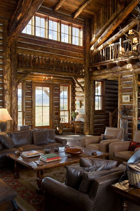 log homes interior pictures log home interior of r r ranch architecture log