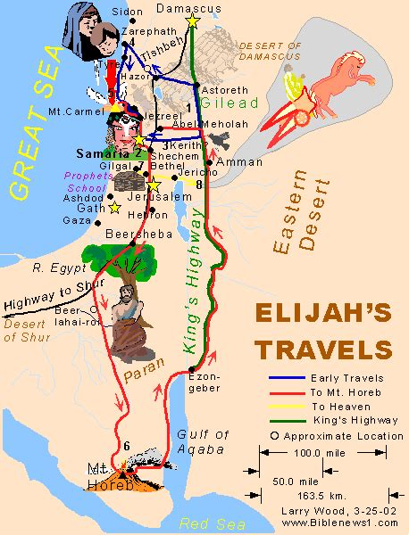 map of your travels elijah s travels