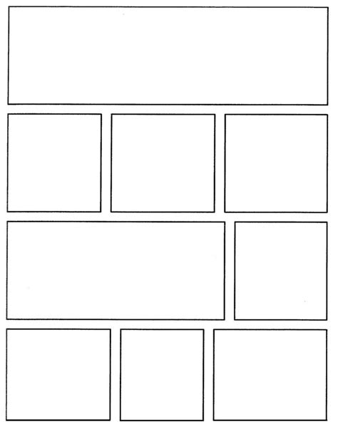 comic templates comic board template cerca con comic