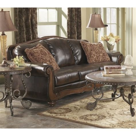 Barcelona Leather Sofa Barcelona Faux Leather Sofa In Antique 5530038