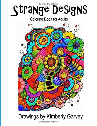 Strange Designs Coloring Book For Adults 1511870702
