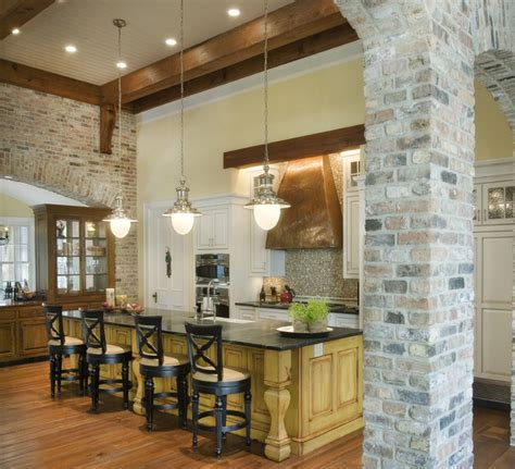 Curved Kitchen Island by Stone Residence 1 Traditional Kitchen