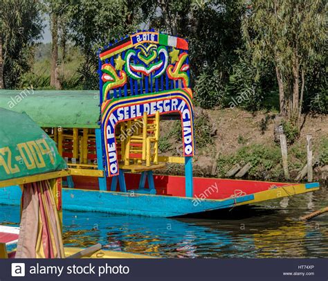floating boats mexico city colourful mexican boats with women names at xochimilco s