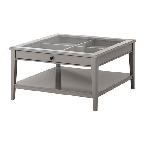 ikea couchtisch liatorp coffee table gray glass ikea