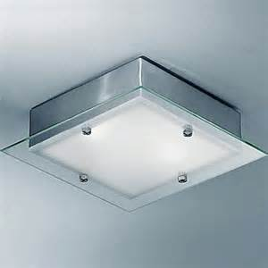 Square Bathroom Light Square Flush Bathroom Ceiling Lights From Easy Lighting