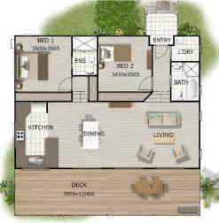 granny house floor plans australian granny flat 2 bedroom cottage plans granny