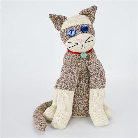 sock animal patterns cat 40 and cozy sock monkeys to make