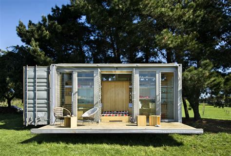 port a bach shipping container home idesignarch
