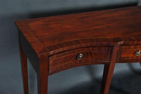 banded mahogany sideboard elegant style console