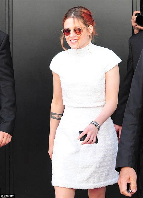 actress dyed hair red for role kristen stewart ditches her glam gowns after cannes as she