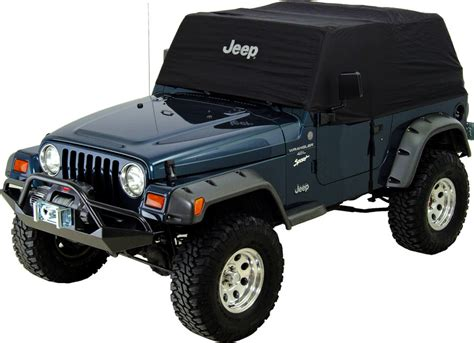 Jeep Cab Mopar 82209510 Mopar 174 Jeep 174 Logo Cab Cover In Black For