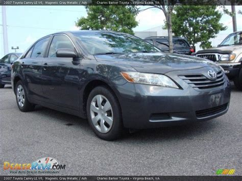 2007 Toyota Camry Le V6 2007 Toyota Camry Le V6 Magnetic Gray Metallic Ash Photo