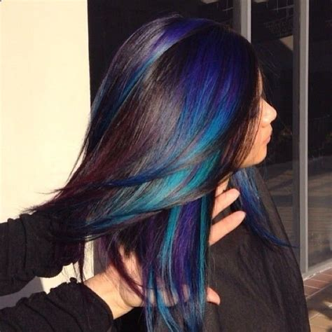 i would love to have this hair color beauty peacock hair color love be a u tiful tips pinterest