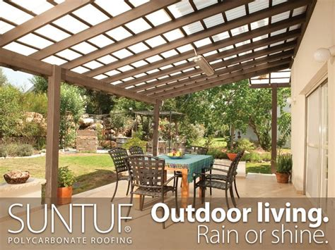 Design Ideas For Suntuf Roofing 25 Best Ideas About Patio Roof On Patio Outdoor Pergola And Backyard Patio