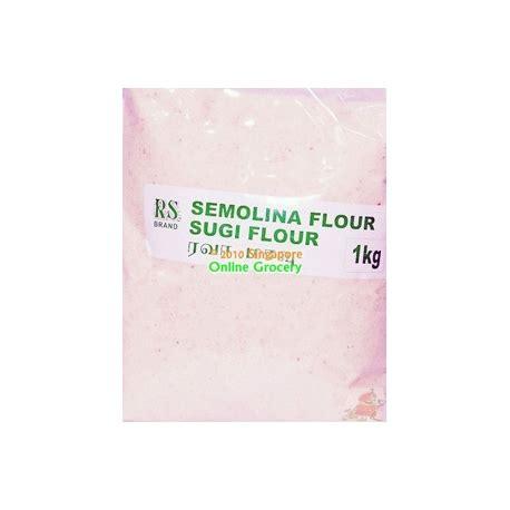 Semolina Flour Semolina Pasta Flour Tepung Semolina 500 Gram rs semolina 500g