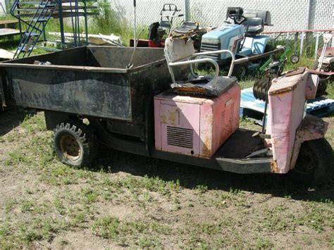 outboard motors for sale hobart vintage cushman turf truckster dozers many tools