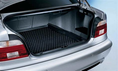 bmw trunk accessories bmw genuine boot trunk luggage fitted mat liner e39 5