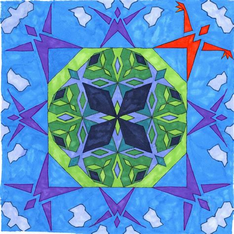 pattern of modulo art reflection 365 days of pattern guest artist alyssa from because