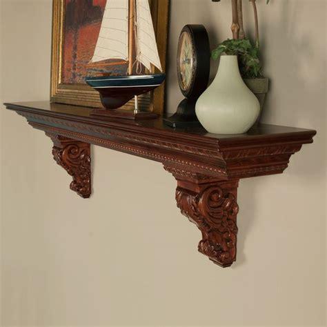 Mantel Shelf With Corbels Athenia Mantel Shelf With Corbels