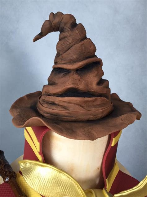 harry potter sorting hat cake topper robyn loves cake
