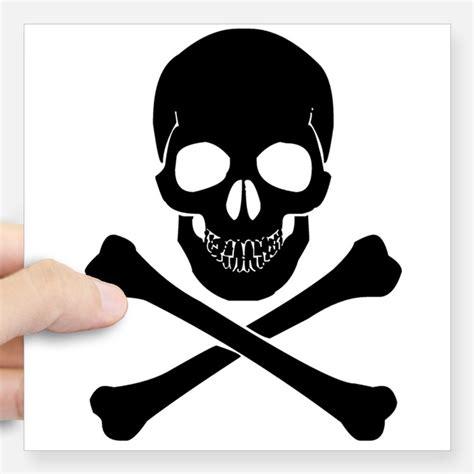 Aufkleber Totenkopf Schwarz by Skull And Crossbones Bumper Stickers Car Stickers