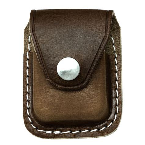 zippo holder genuine leather zippo lighter belt clip holder brown leather