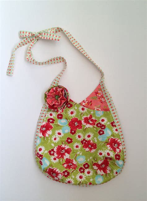Handmade Fabric Purses - fabric shoulder bag handmade fabric purse fashion