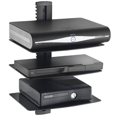 Dvd Player Shelf Tv by Top 20 Floating Glass Shelves For Interiors