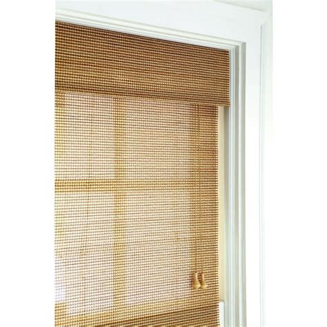 home decorators blinds home depot home decorators collection natural multi weave roman shade
