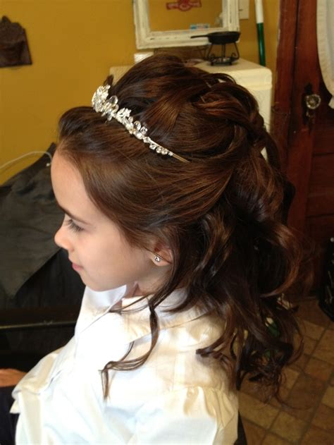 hairstyles for communion 17 best images about first communion hairstyles on