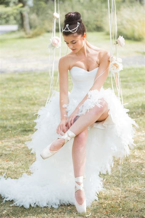 Braut Ballerinas by 18 Graceful And Feminine Ballerina Inspired Wedding