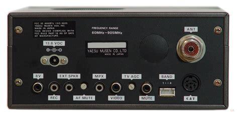 yaesu frg  vhf receiver frg