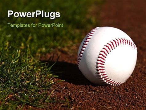 Free Baseball Powerpoint Templates best baseballconcept powerpoint template baseball on the